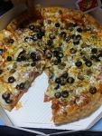 몸에는 안좋지만 맛있는 피자