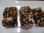 간단하고 맛있는 겨울간식, 곶감 쌀강정~