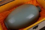 AE267. 도자기 병 - 여기저기 알튐 및 가마유가 보여짐 (616g)