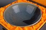 AG147. 도자기 완  - 여기저기 알튐 및 가마유가 보여짐 - (733g)