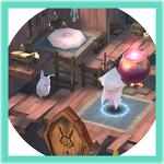 마녀의 샘3 슬립쿠션을 이용한 체력과 마나 올리는 방법