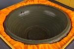AH84. 도자기 반 -여기저기 알튐 및 가마유가 보여짐- (1.40kg)