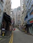 홍콩 소호거리 및 소호벽화거리, 미드레벨 에스컬레에터 풍경