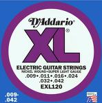 D'addario EXL120 다다리오 일렉 기타줄.