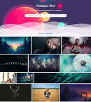 배경화면 공유사이트 www.wallpaperflare.com