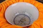 AH306. 도자기 배 (빙열) -여기저기 알튐및 가마유가 보여짐- (47g)