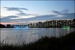 도원지-월광 수변공원 야경