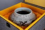 AB82. 도자기 호 - 여기저기 알튐 및 가마유들이 보여짐 (1kg)
