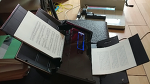 후지쯔 ScanSnap iX500 스캐너와 HC-600재단기