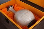 AG142. 도자기 병  - 여기저기 알튐 및 가마유가 보여짐 - (424g)