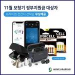 웨이브히어링, 청각장애등록 대상 <보청기 정부지원금> 재신청 이달 11월부터(5년마다 1회)
