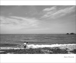 8월, 바다