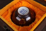AH79. 도자기 배 -여기저기 알튐 및 가마유가 보여짐- (90g)
