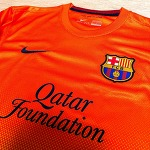 12-13 FC Barcelona Away Jersey (MESSI.10)