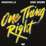 Marshmello & Kane Brown - One Thing Right 가사 해석 마시멜로 케인 브라운