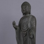 AH239. 황동 부처님 -여기저기 알튐및 산화가 보여짐- (1.5kg)