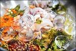 구룡포 식당 은정 대게 물회+대게탕
