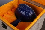 AH77. 도자기 배 -여기저기 알튐 및 가마유가 보여짐- (346g)