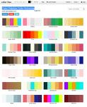 Color Palettes Color Schemes(컬러팔레트)