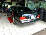 W140 S320L 휠 및 타이어 교체(W220용 경량 마그네슘 휠)