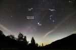Winter Triangle & Milky Way 겨울철 대삼각형과 은하수