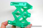 Platform Jack을 3D 프린터로 한번에 뽑기.