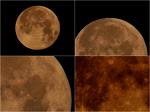 보름달 Fujinon A11x30 SD 렌즈에 펜탁스Q-S1 카메라를 마운팅.