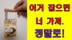점심을 공짜로 얻어 먹을 수 있는 방법: 떨어지는 지폐잡기