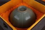 AH72. 도자기 완 -여기저기 알튐 및 가마유가 보여짐- (428g)