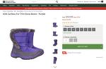 Kids Caribou Fur Trim Snow Boots  - up to 50% sale