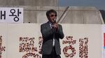 [영상] 573돌 한글날 꽃 바치기 행사