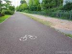 김포시 자전거도로 포장상태 개판