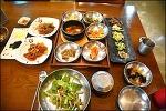 강정보 식당 만파식적- 혼자라도 좋은 근채보리밥