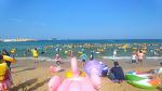 속초 해수욕장 풍경