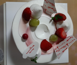 파리바게트 딸기 요거트 케이크 맛이?