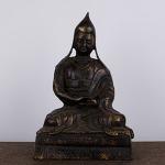 AE45. 황동 부처님 -여기저기 알튐 및 산화가 보여짐 (1.2kg)