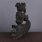 AH226. 홍산문화석 (자석붙음) -여기저기 알튐및 산화가 보여짐- (1.5kg)