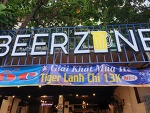 호치민 맥주 마시기 좋은 식당 - 떤션넷 공항 근처 맛집 - beer zone gò vấp - vietnma hochimin trip
