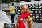 일본대사관 앞 평화의 소녀상 의미 및 위치 w 초등 딸아이와 함께...