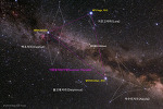 Summer Triangle and the Milky Way 여름철 대삼각형과 은하수