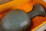 AE240. 도자기 병 - 여기저기 알튐 및 가마유가 보여짐 (1.8kg)