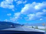 같은 하늘 다른 느낌..해를 향해 사진을 찍으면??