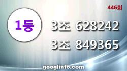연금복권 446회 당첨번호, 1월15일 추첨 안내