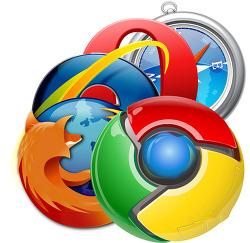 인터넷 브라우저 세계 점유율 (2013년 1월, 세계, 한국, Internet web browser marketshare)