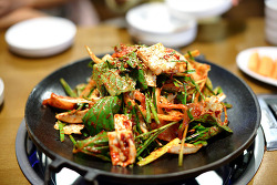 [죽전 맛집]오징어 볶음과 튀김