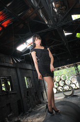저탄장의 시크한 그녀 MODEL: 연다빈