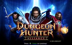 [MAC OSX] 맥용 RPG 게임 던전헌터 : 얼라이언스 (Dungeon hunter : Alliance)