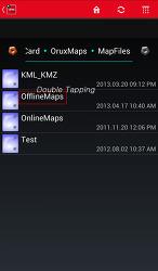 OruxMaps 신버전에서 Map 폴더 지정(설정) 방법