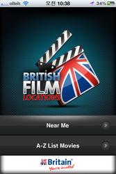 ::해외여행 앱-영국 필름 로드, British Film Locations
