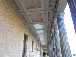 베를린의 신박물관.Neues Museum